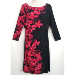 LAUREN RALPH LAUREN Stretch Sheath Dress 1353E1